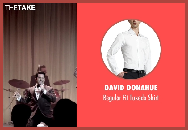 David Donahue white shirt from Jersey Boys seen with No Actor (Frankie Valli)