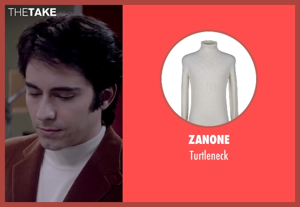 ZANONE white turtleneck from Jersey Boys seen with No Actor (Frankie Valli)