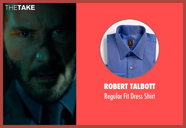 Robert Talbott blue shirt from John Wick seen with No Actor (John Wick)