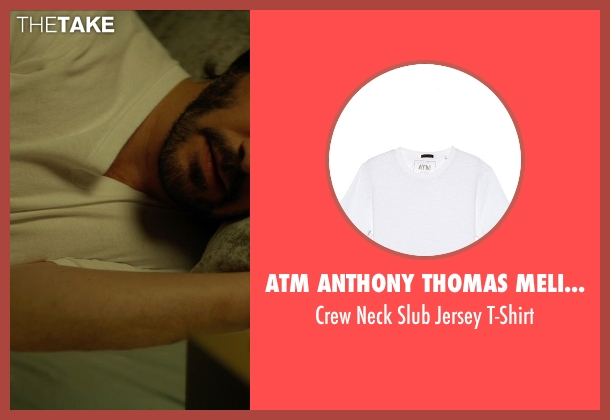 ATM Anthony Thomas Melillo white t-shirt from John Wick seen with No Actor (John Wick)