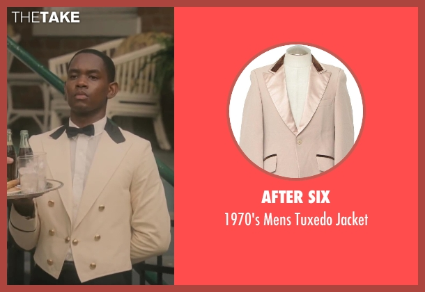 After Six beige jacket from Lee Daniels' The Butler seen with No Actor (Cecil Gaines (15yrs old))