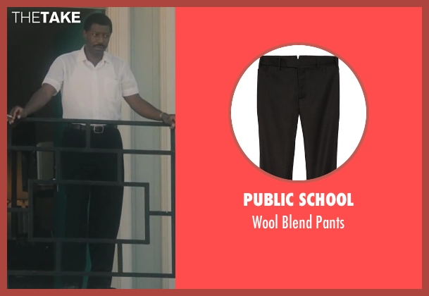 Public School black pants from Lee Daniels' The Butler seen with No Actor (Unknown Character)