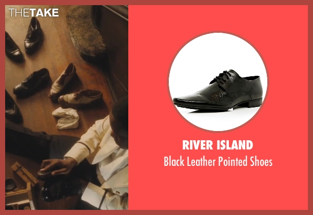 River Island black shoes from Lee Daniels' The Butler seen with No Actor (Cecil Gaines (15yrs old))