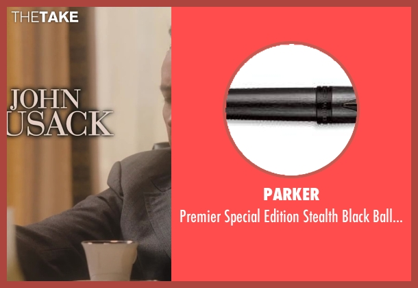 Parker pen from Lee Daniels' The Butler seen with No Actor (Richard Nixon)