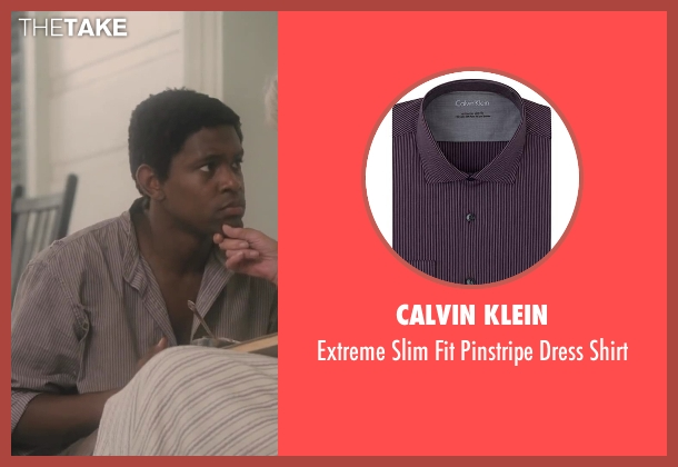 Calvin Klein red shirt from Lee Daniels' The Butler seen with No Actor (Cecil Gaines (15yrs old))