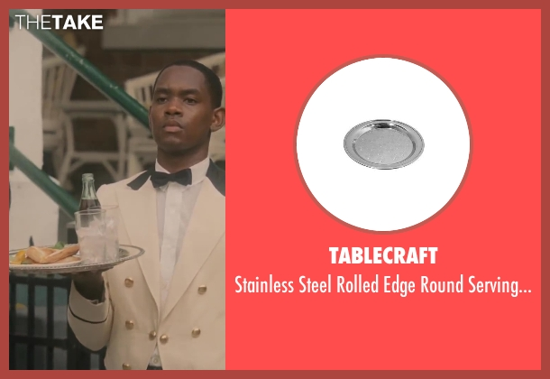 Tablecraft tray from Lee Daniels' The Butler seen with No Actor (Cecil Gaines (15yrs old))