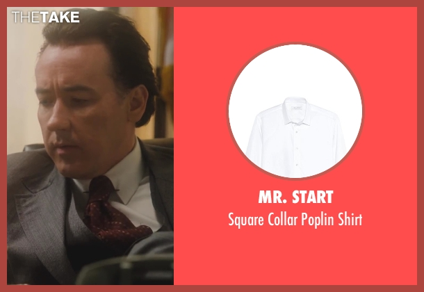 Mr. Start white shirt from Lee Daniels' The Butler seen with No Actor (Richard Nixon)