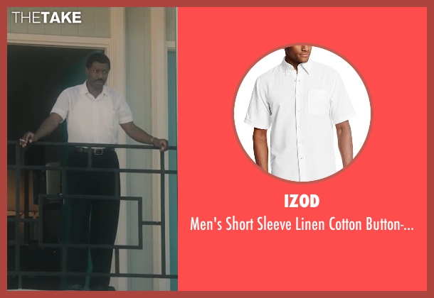 Izod white shirt from Lee Daniels' The Butler seen with No Actor (Unknown Character)