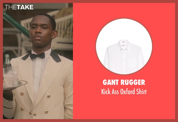 Gant Rugger white shirt from Lee Daniels' The Butler seen with No Actor (Unknown Character)