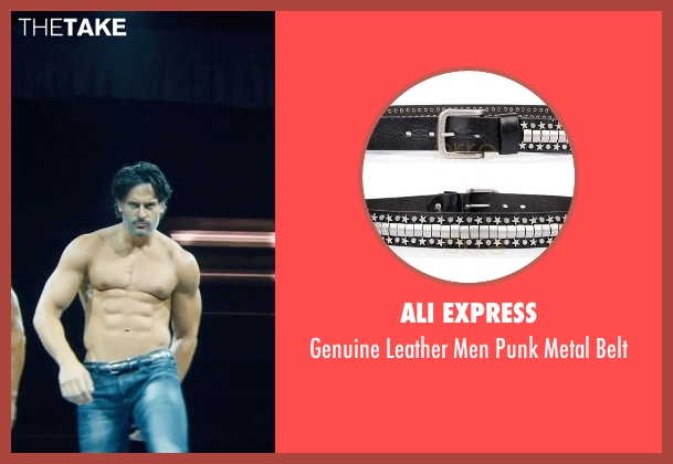 Ali Express black belt from Magic Mike XXL seen with No Actor (Big Dick Richie)