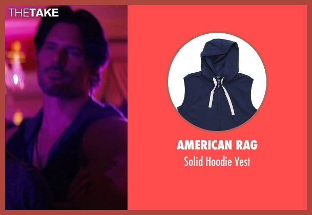 American Rag blue vest from Magic Mike XXL seen with No Actor (Big Dick Richie)