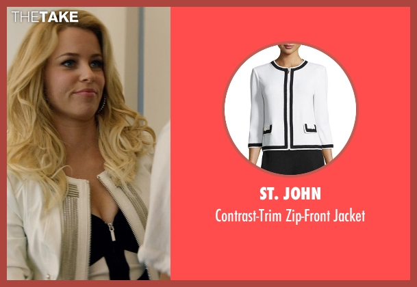 St. John white jacket from Magic Mike XXL seen with No Actor (Unknown Character)