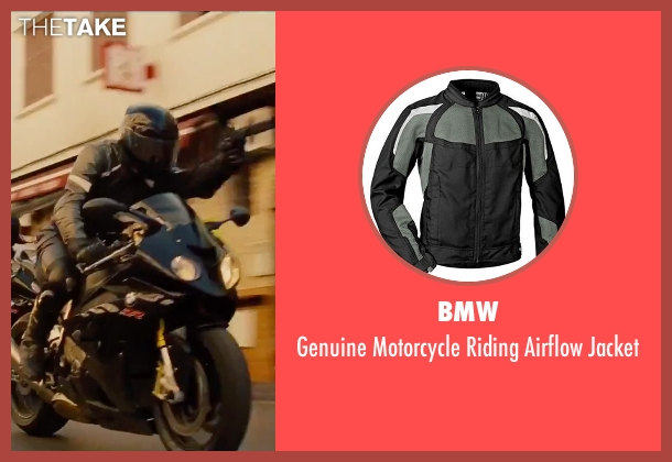 BMW black jacket from Mission: Impossible - Rogue Nation seen with No Actor (Unknown Character)