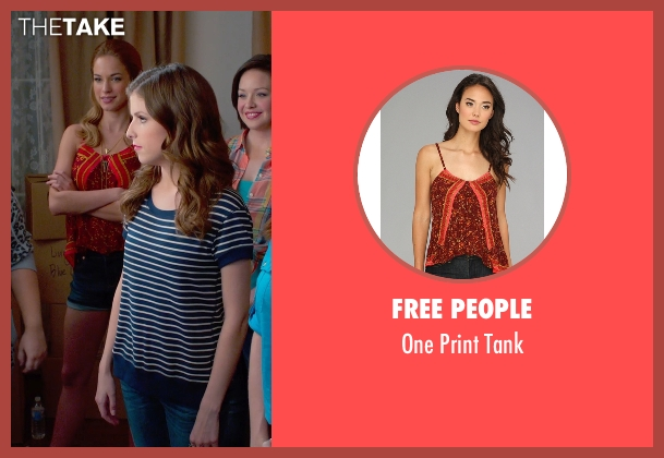 Free People red tank from Pitch Perfect 2 seen with No Actor (Stacie)