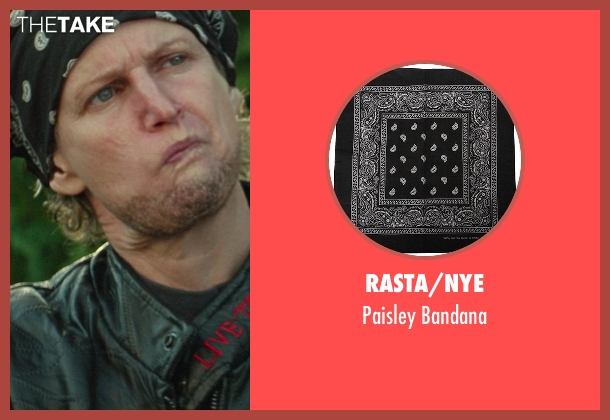 Rasta/NYE bandana from Ride Along seen with No Actor (Biker's Wife)
