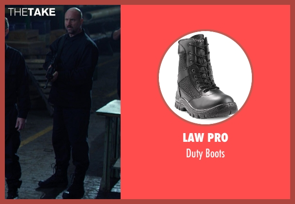 Law Pro black boots from Ride Along seen with No Actor (Serb)