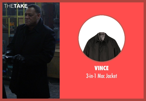 Vince black jacket from Ride Along seen with No Actor (Omar)