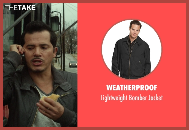 Weatherproof black jacket from Ride Along seen with No Actor (Santiago)