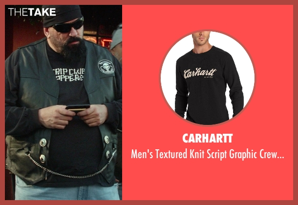 Carhartt black neck from Ride Along seen with No Actor (Bearded Biker)