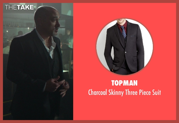 Topman black suit from Ride Along seen with No Actor (Strip Club Manager)