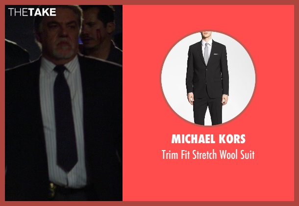 Michael Kors black suit from Ride Along seen with No Actor (Lt. Brooks)