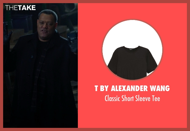 T by Alexander Wang black tee from Ride Along seen with No Actor (Omar)