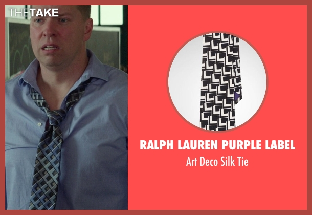 Ralph Lauren Purple Label black tie from Ride Along seen with No Actor (Crazy Cody)