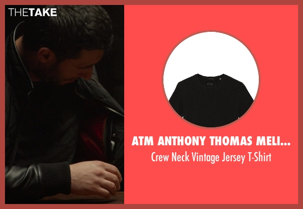 ATM Anthony Thomas Melillo black t-shirt from Ride Along seen with No Actor (Marko)