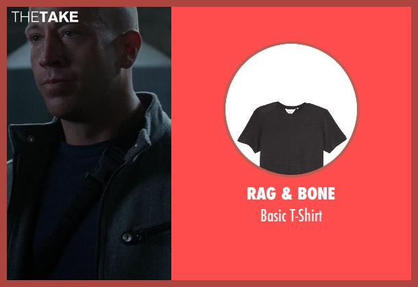 Rag & Bone black t-shirt from Ride Along seen with No Actor (Roberto)