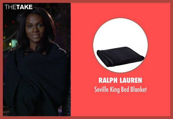 Ralph Lauren blanket from Ride Along seen with Tika Sumpter (Angela Payton)
