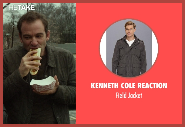 Kenneth Cole Reaction brown jacket from Ride Along seen with No Actor (Miggs)