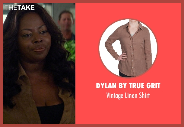 Dylan by True Grit brown shirt from Ride Along seen with No Actor (Market Shopper)