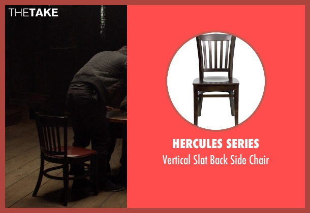 Hercules Series chair from Ride Along seen with No Actor (Marko)