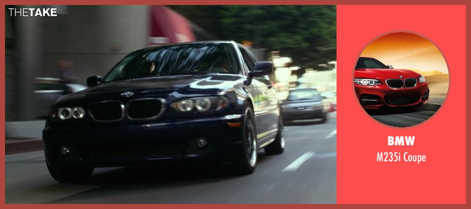 BMW coupe from Ride Along seen with No Actor (Marko)