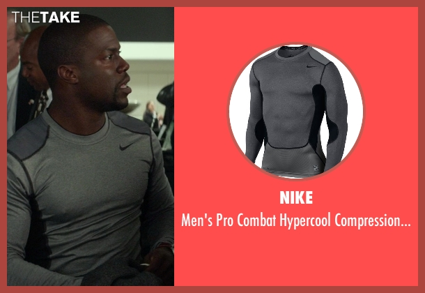 Nike gray 2.0 from Ride Along seen with Kevin Hart (Ben Barber)