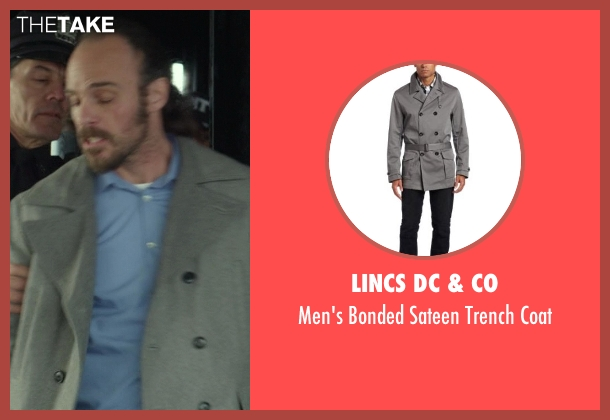 LINCS DC & Co gray coat from Ride Along