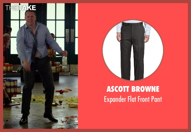 Ascott Browne gray pant from Ride Along seen with No Actor (Crazy Cody)