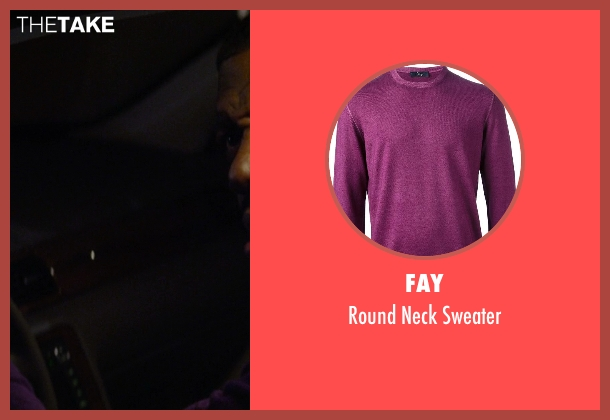 Fay purple sweater from Ride Along seen with No Actor (Carjacked Driver)