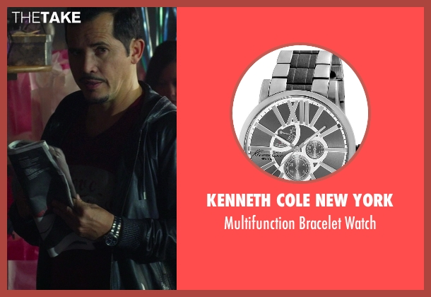 Kenneth Cole New York silver watch from Ride Along seen with No Actor (Santiago)