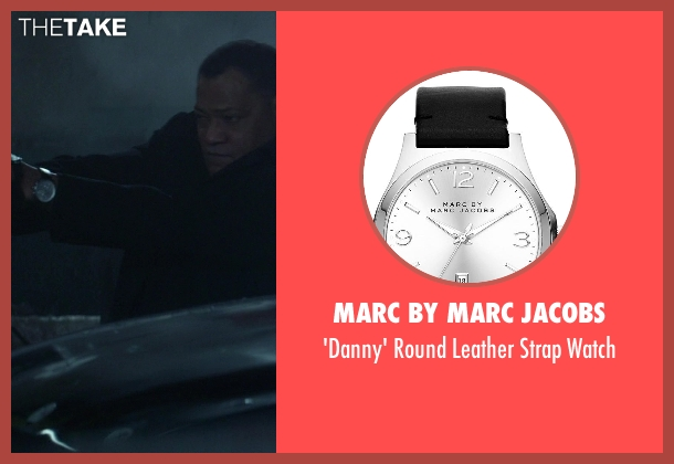 Marc by Marc Jacobs silver watch from Ride Along seen with No Actor (Omar)