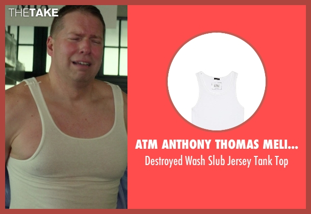 ATM Anthony Thomas Melillo white top from Ride Along seen with No Actor (Crazy Cody)