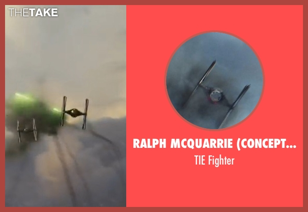 Ralph McQuarrie (Concept Artist) fighter from Star Wars: The Last Jedi seen with No Actor (Unknown Character)