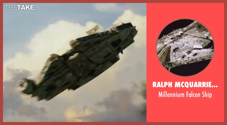 Ralph McQuarrie (Concept Artist) ship from Star Wars: The Last Jedi seen with No Actor (Unknown Character)