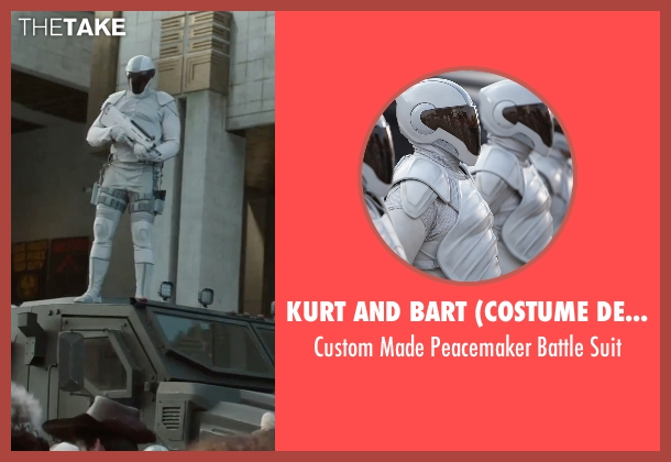 Kurt and Bart (Costume Designer) suit from The Hunger Games: Mockingjay - Part 2 seen with No Actor (Unknown Character)