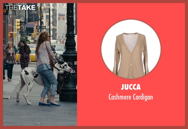 Jucca beige cardigan from The Other Woman seen with No Actor (Kate King)