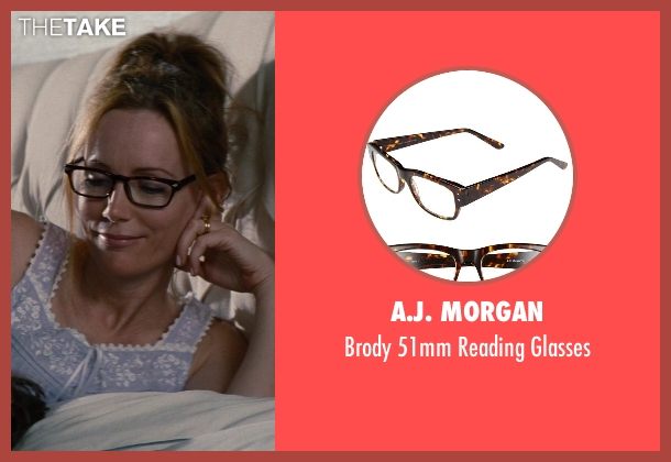 A.J. Morgan black glasses from The Other Woman seen with No Actor (Kate King)