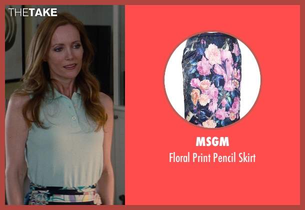 Msgm black skirt from The Other Woman seen with No Actor (Kate King)