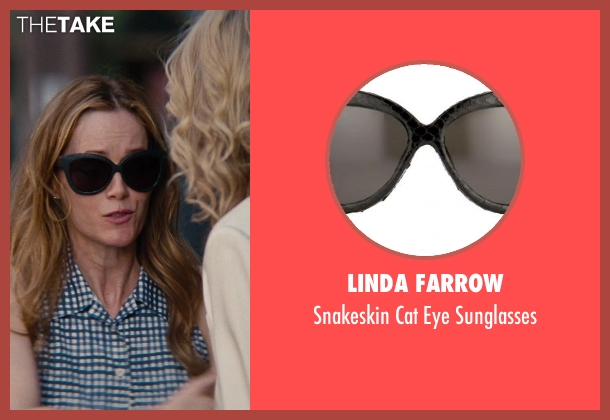 Linda Farrow black sunglasses from The Other Woman seen with No Actor (Kate King)