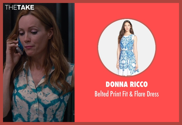 Donna Ricco blue dress from The Other Woman seen with No Actor (Kate King)