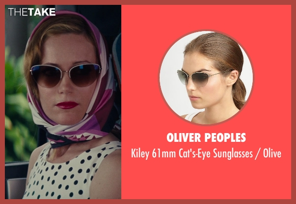 Oliver Peoples brown olive from The Other Woman seen with No Actor (Kate King)
